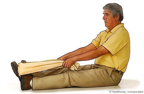 Calf-plantar fascia stretch